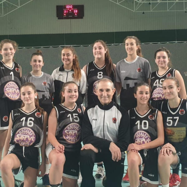 C.B. LA VILA 31-59 SERVIGROUP JUNIOR FEMENINO